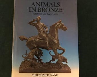 "Book by Christopher Payne titled ""Animals in Bronze"""