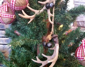 Deer Antler Ornaments. Elk,  Moose, Deer ANTLERS. Christmas Decorations, Christmas Tree, Christmas Ornament, Christmas Decor, Home Decor