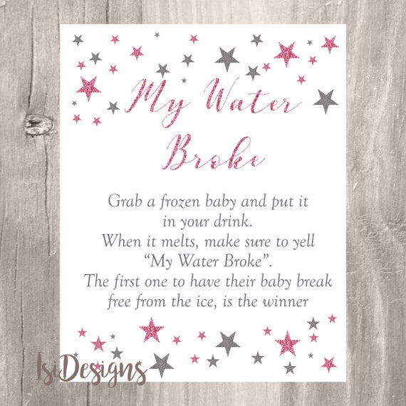 Cards And Gifts Printable Baby Shower Sign Gift Table Sign Pink