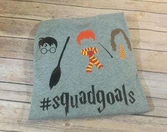 Harry Potter squad goals kids sweat shirt