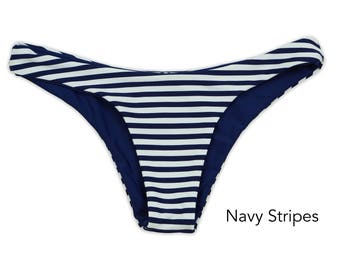Seamless Cheeky Bikini Bottom, Swimwear Bottom, Swimsuit Bottom, Bathing Suit, Cheeky Bikini Bottoms, Seamless Bottoms