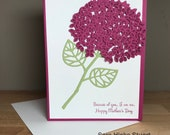 Mother's Day Card - Hydrangea