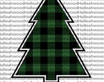 Rockin' Around- Christmas Tree- Buffalo Plaid