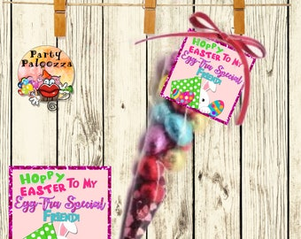 Printable Easter tags/freind