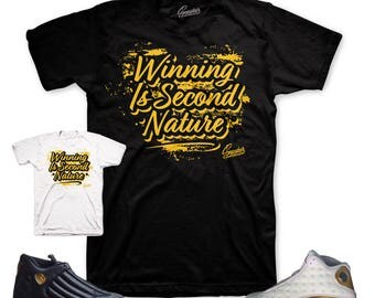 Jordan DMP 13 & 14  Second Nature Shirt