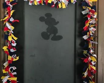 Disney Cruise Door Decoration, Fish Extender Decoration, Tied Ribbon Garland, Disney Ribbon Garland, Door Decor