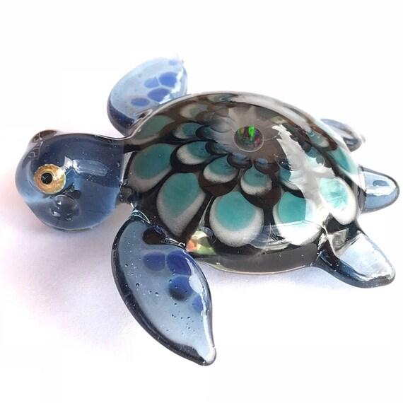 Turtle Opal Pendant