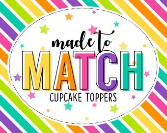 M2M Cupcake Toppers - Add On