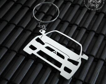 Mitsubishi Lancer X Keychain