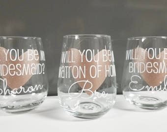 Will you be my bridesmaid? Will you be my maid of honor? Bridesmaid Proposal, Asking Bridesmaids, Bridesmaid Gifts