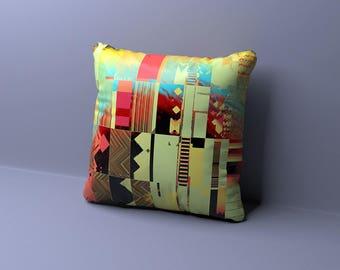 Modern Pillow, Modern Throw Pillow, Geometric Pillow, Mid Century Modern Pillow, Modern Pillow, White Throw Pillow, Retro Pillow