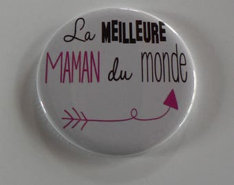 Best MOM Magnet / Pocket mirror / Badge pin MOM.