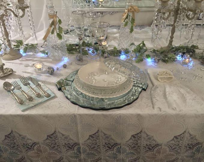 """Tablecloth Decor """"Santa Chiara tiles"""""""