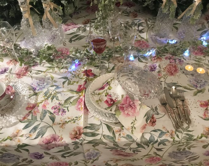 Tablecloth Shabby flowers