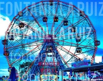 Brooklyn Wonder Wheel Coney Island