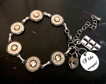 "LIMITED EDITION + The ""Jack"" Winchester Bullet Casing Bracelet"