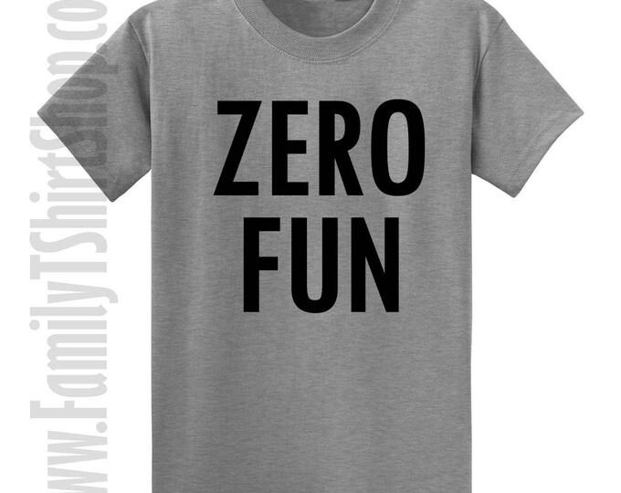 Zero Fun T-shirt