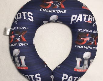 New England Patriots- Travel/Neck Pillow