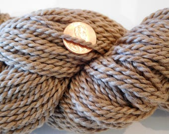 Bulky Alpaca Yarn - Medium Fawn/Tan