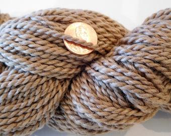 Bulky Alpaca Yarn - Medium Fawn/Tan