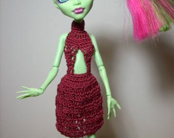 flirty dress featuring a cut out midriff for the Monster High/Ever After High