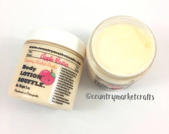 Apple Butter Soufflé Hand & Body Lotion Natural Handmade Fall lotion