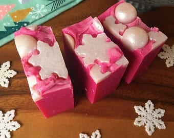 Santa Baby Soap All Natural Soap Vegan Soap Stocking Stuffer - Valentines Day Gift