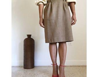 vintage purple label ralph lauren high waisted pencil skirt