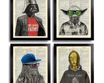 Star Wars Art Etsy