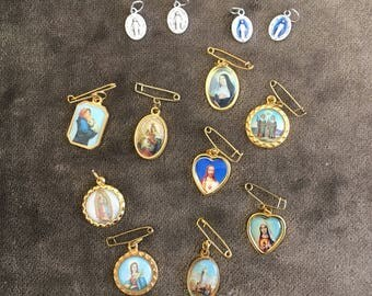 Christian Medals made in Italy