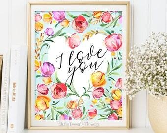 Your Printable Wall Art Shop von LittleEmmasFlowers auf Etsy