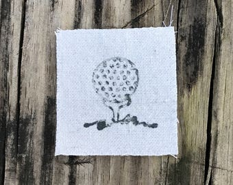 GOLF BALL - Applique - infants, toddlers, children