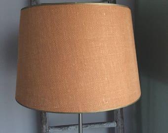 Burlap lamp shade 1