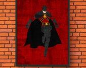 Minimalism Art - Red Robi...