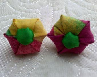 Clip earrings, Bohemian earrings.