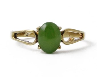 Canadian Nephrite Jade Ring - Clearance - 0109