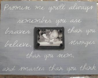 Family Magnet Photo Sign