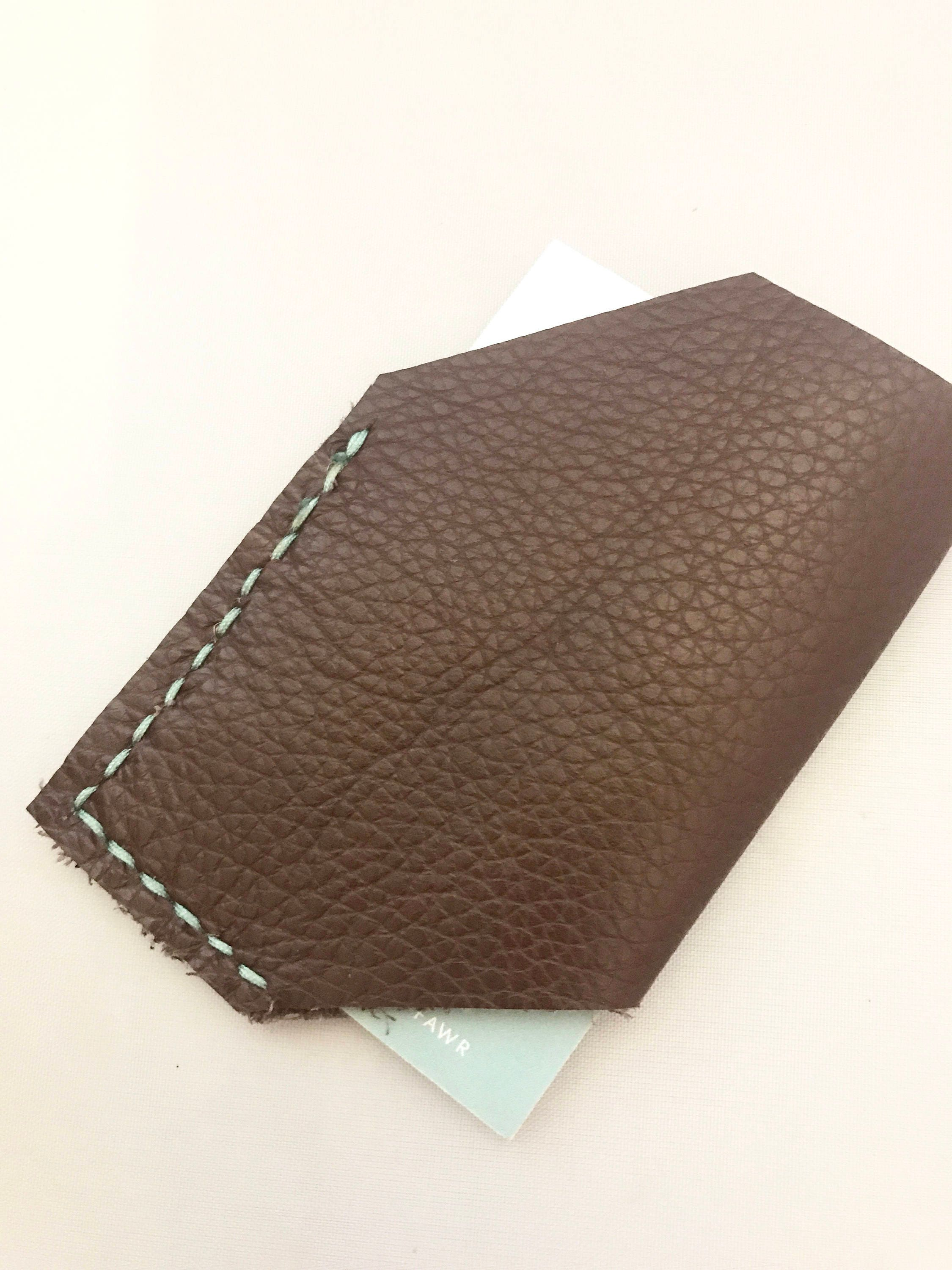 leather card holder, personalised business card holder, leather ...