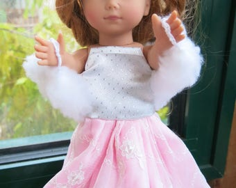 Princess pink Just Like Me doll dress