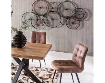 Retro Vintage Urban Accessories Bicycle Wall Art