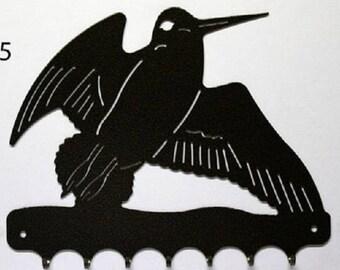 Hangs 26 cm pattern metal keys: Woodcock