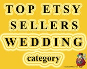 Top Etsy sellers in WEDDING category Top selling weddings shops Most popular wedding shops Best selling wedding shops Best sellers weddings