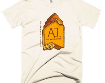 Appalachian Trail T-shirt: A.T. One With Nature, Creme