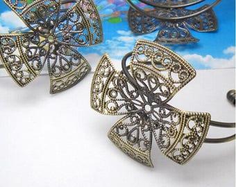 Cuff Bracelet 1 x Bronze (SJ082)
