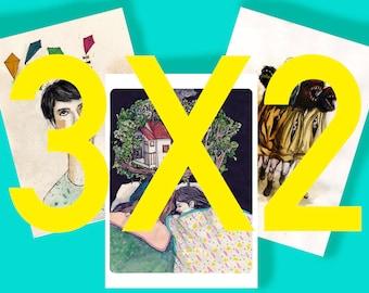 OFFER 3X2_Print A6 _ illustration digital printing _ _ _ drawing art