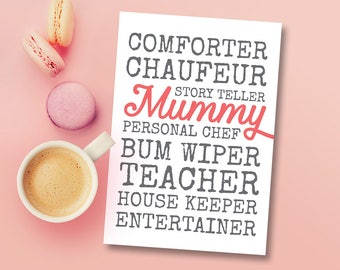 Mothers Day Card - Mummy