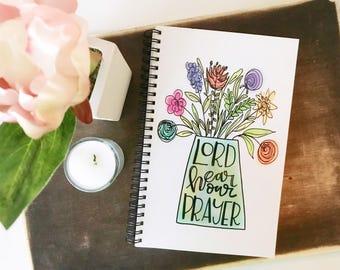 Prayer Journal * Handlettered Journal * Catholic Journal