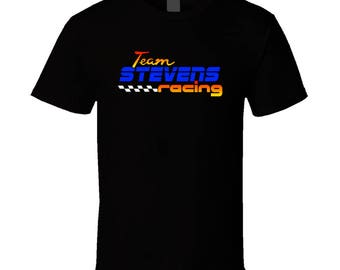 Stevens Team Racing Personalized Racing Cool T Shirt