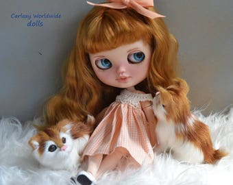 ICY BLYTHE Custom Blythe doll by Carlaxy  1º payment of 5 total price 400 dollars