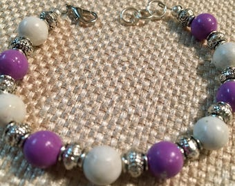 Memorial Bead Bracelet, Made With Cremation Ashes